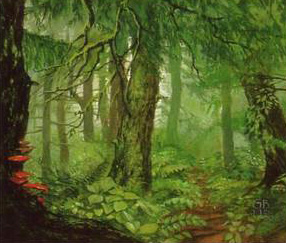 Drúadan Forest by Gail McIntosh