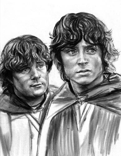File:Lorraine Brevig - Frodo and Sam in Ithilien.jpg