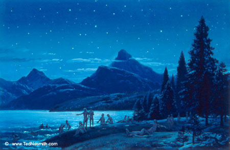 File:Ted Nasmith - The Dawn of the Firstborn Elves.jpg