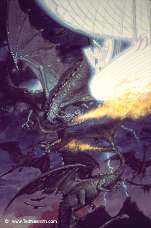File:Ted Nasmith - Eärendil and the Battle of Eagles and Dragons.jpg