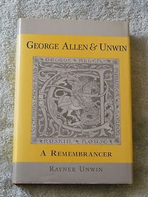 George Allen and Unwin- A Remembrancer.png