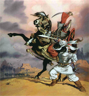Far Harad cover art, by Angus McBride
