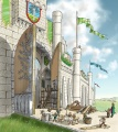 Eric Faure-Brac - The Gates of Minas Tirith.jpg