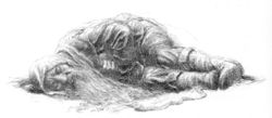 Alan Lee - Bombur sleeping.jpg