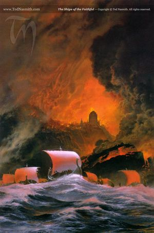 Ted Nasmith - The Ships of the Faithful.jpg