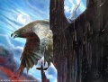 John Howe - Gwaihir rescues Gandalf from Orthanc.jpg
