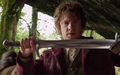 The Hobbit - An Unexpected Journey - Bilbo and Sting 2.png