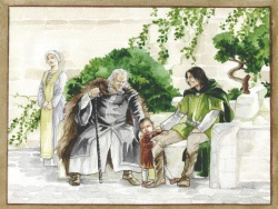 Catherine Chmiel - Ecthelion,Thorongil and Boromir study.jpg