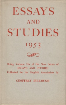 Essays and Studies 1953.jpg