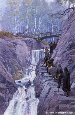 Ted Nasmith - Up the Rainy Stairs.jpg