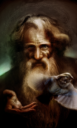 Fabio Leone - Radagast the Brown.png