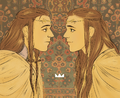 Juliana Pinho - Elrond and Elros.png