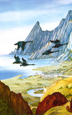 Roger Garland - Middle-earth Panorama (Pelargir).jpg