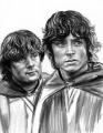 Lorraine Brevig - Frodo and Sam in Ithilien.jpg