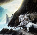 John Howe - Gandalf Approaches the Guarded City.jpg