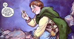 David T. Wenzel - Bilbo finds the One Ring.jpg