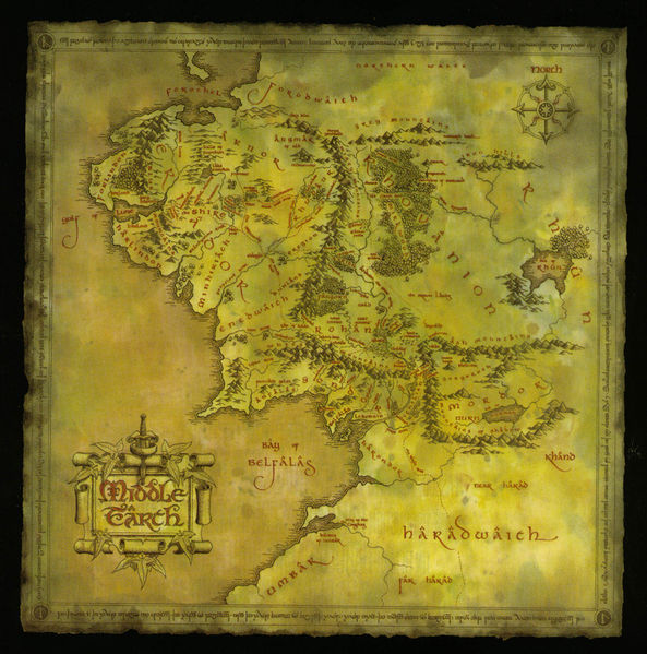 File:The Lord of the Rings (film series) - Middle-earth map poster.jpg
