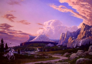 Ted Nasmith - In Haste to the White City.jpg