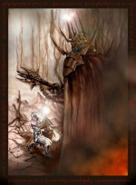 Felix Sotomayor - Fingolfin and Morgoth.jpg