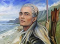 Lorraine Brevig - Legolas and the Sea.jpg