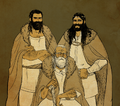 Juliana Pinho - Baran and his sons Baranor and Boron.png