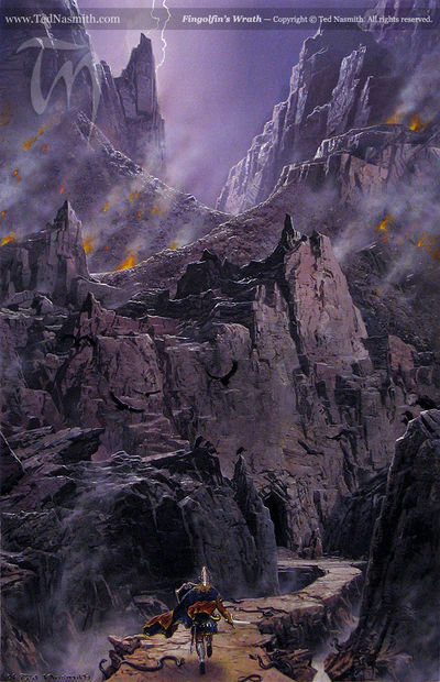 Fingolfin's Wrath by Ted Nasmith