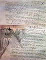 J.R.R. Tolkien - Shelob's Lair (and manuscript).jpg