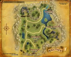 The Lord of the Rings Online - Archet map.jpg