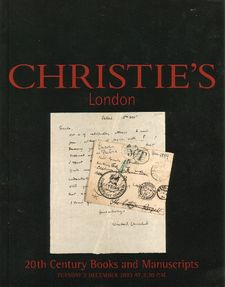 Christie's 20th Century Books and Manuscripts 2 December 2003.jpg