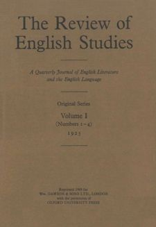 The Review of English Studies (Vol. 1).jpg