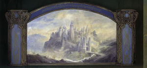 The Lord of the Rings (film series) - City of Ost-in-Edhil mural.jpg